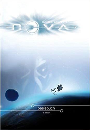 Titelbild des Buches: Eine Raumstation und mehrere Raumschiffe über einem Planeten