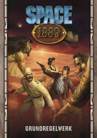 Titelbild des Buches: Eine Collage verschiedene Archetypen aus dem Rollenspiel