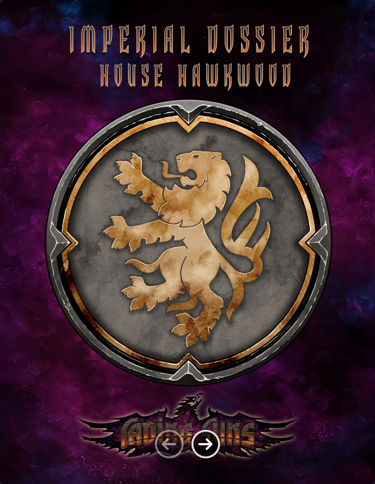 Imperial Dossier House Hawkwood